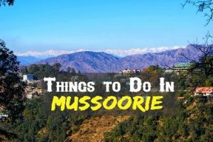 top 5 places to visit in mussoorie