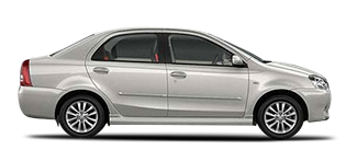 Noida to Agra Taxi in Etios Or Equivalent
