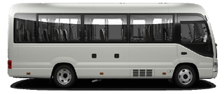 Delhi To Agra Taxi AC Coach Mini 22 To 30 Seater